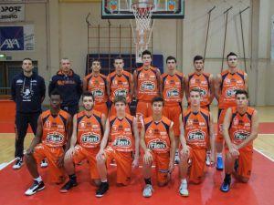 La formazione Under19 della Aurora Basket Jesi appena qualificata per le fasi nazionali.