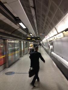 La stazione di Waterloo della metro di Londra